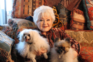 Dogs right pet for senior lady